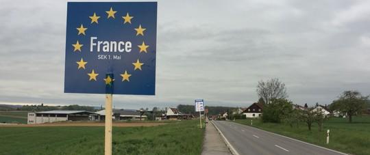 Grenzübergang Deutschland Frankreich