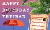 Happy Birthday Freibad!